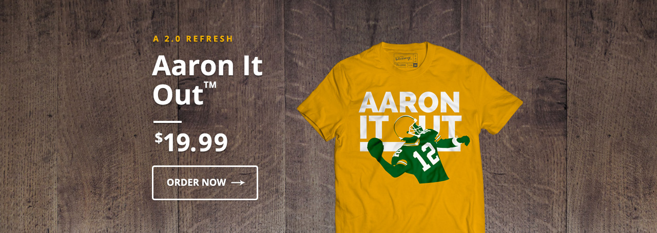 Aaron It Out - 2.0 Aaron Rodgers T-Shirt
