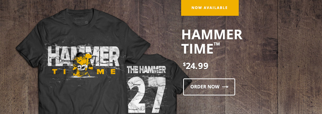 Eddie Lacy T-Shirt - Hammer Time